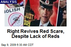 Right Revives Red Scare, Despite Lack of Reds