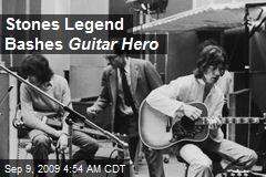 Stones Legend Bashes Guitar Hero