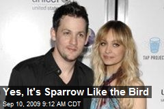 Yes, It's Sparrow Like the Bird