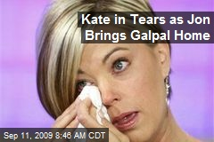 Kate in Tears as Jon Brings Galpal Home