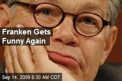 Franken Gets Funny Again