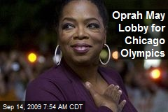 Oprah May Lobby for Chicago Olympics