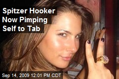 Spitzer Hooker Now Pimping Self to Tab