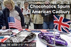 Chocoholics Spurn American Cadbury