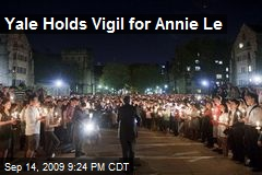 Yale Holds Vigil for Annie Le