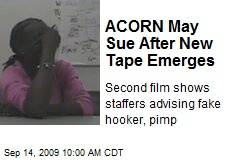 ACORN May Sue After New Tape Emerges