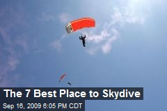 The 7 Best Place to Skydive