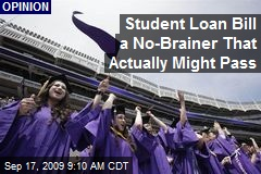 Student Loan Bill a No-Brainer That Actually Might Pass