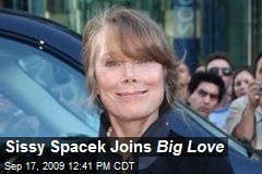 Sissy Spacek Joins Big Love
