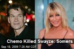 Chemo Killed Swayze: Somers