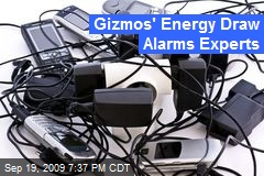 Gizmos' Energy Draw Alarms Experts