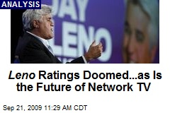 Leno Ratings Doomed...as Is the Future of Network TV