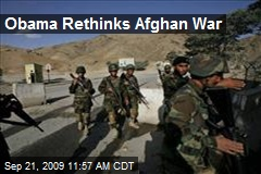 Obama Rethinks Afghan War