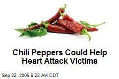 Chili Peppers Could Help Heart Attack Victims
