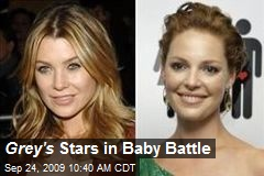 Grey's Stars in Baby Battle