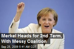 Merkel Heads for 2nd Term, With Messy Coalition