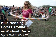 Hula-Hooping Comes Around as Workout Craze