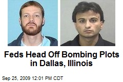 Feds Head Off Bombing Plots in Dallas, Illinois