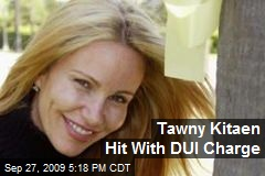 Tawny Kitaen Hit With DUI Charge