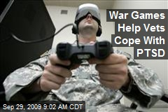 War Games Help Vets Cope With PTSD