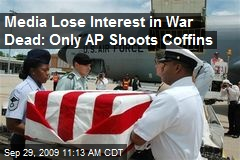 Media Lose Interest in War Dead: Only AP Shoots Coffins