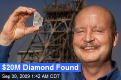 $20M Diamond Found