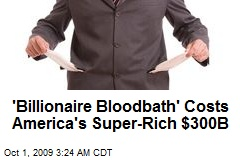 'Billionaire Bloodbath' Costs America's Super-Rich $300B