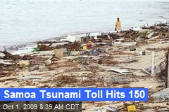 Samoa Tsunami Toll Hits 150