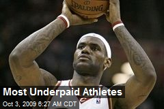 Most Underpaid Athletes