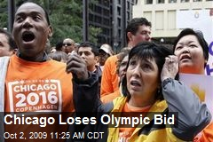 Chicago Loses Olympic Bid