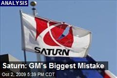 Saturn: GM's Biggest Mistake