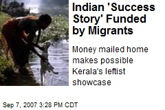 Indian 'Success Story' Funded by Migrants