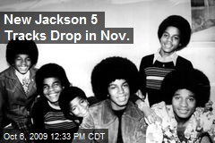 New Jackson 5 Tracks Drop in Nov.