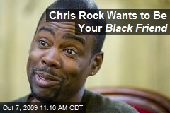 Chris Rock Wants to Be Your Black Friend