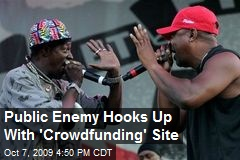 Public Enemy Hooks Up With 'Crowdfunding' Site