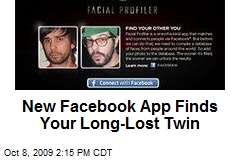 New Facebook App Finds Your Long-Lost Twin