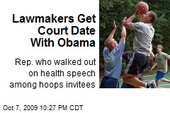 Lawmakers Get Court Date With Obama