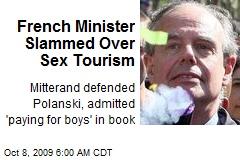 French Minister Slammed Over Sex Tourism