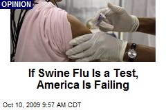 If Swine Flu Is a Test, America Is Failing