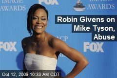 Robin Givens on Mike Tyson, Abuse