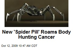 New 'Spider Pill' Roams Body Hunting Cancer