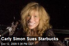 Carly Simon Sues Starbucks