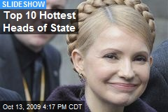 Top 10 Hottest Heads of State