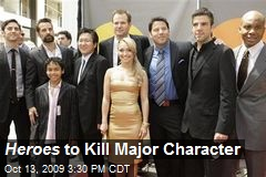 Heroes to Kill Major Character