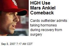 HGH Use Mars Ankiel Comeback