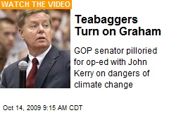 Teabaggers Turn on Graham