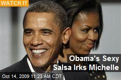 Obama's Sexy Salsa Irks Michelle