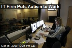 IT Firm Puts Autism to Work