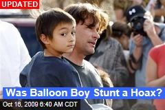 Was Balloon Boy Stunt a Hoax?