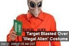 Target Blasted Over 'Illegal Alien' Costume